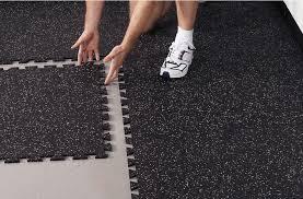 3 8 lock tiles rubber flooring and basements