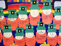 st patrick u0027s day leprechaun and pot of gold apples and abc u0027s