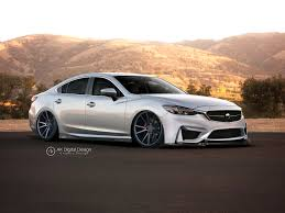 mazda saloon cars 2016 mazda 6 modified by akdigitaldesigns on deviantart