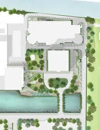 landscape architecture successfully unites the scg headquarters