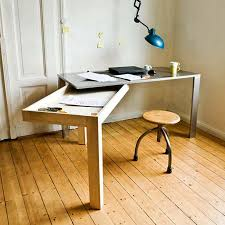 contemporary office creative unfolding desk for contemporary