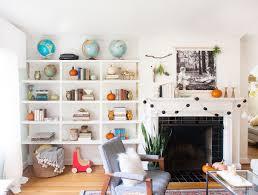 Home Decor Orange Fall Decorating Ideas In Black U0026 White With A Bit Of Orange