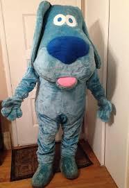 new 2015 eva size blue u0027s clues blue dog furry mascot costume