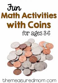 money math for preschool kindergarten and first grade the
