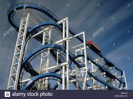 Six Flags Magic Mountain by Flashback At Six Flags Magic Mountain In Valencia California