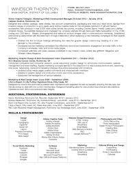 Experiential Marketing Resume Sample Cv Cv Sample Jack Smith Cv Examples And Live Cv Samples A