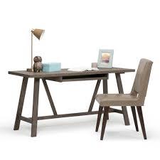 Rustic Desk Furniture Weathered Wood Desk Best Home Furniture Decoration