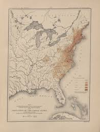 1820 Map Of United States by 1790 Population Map History U S Census Bureau