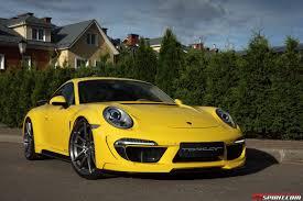 porsche stinger interior yellow porsche 991 carrera stinger by topcar gtspirit