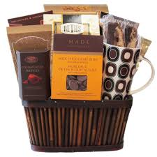 Chocolate Delivery Service Coffee Gift Baskets Montreal The Sweet Basket Company