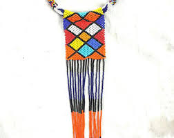 maasai necklace etsy
