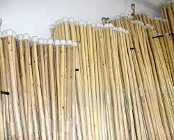 wooden tent wooden poles