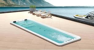 prefabricated pools resistance pool prefabricated pools above ground swim spa for