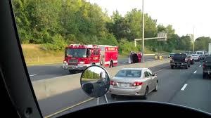 car crash i 91 north ct ma state line youtube