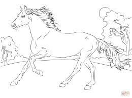horse coloring pages printable rubybursa com