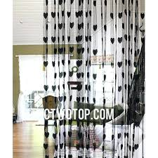 Black Sheer Curtains Black Sheer Curtains Large Size Of Coffee Stripe Curtains Black