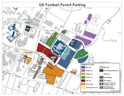 University Of Michigan Parking Map by If You U0027re Going To The Game Saturday Go Early Kentucky Sports