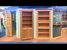 invisidoor hidden door bookcase youtube