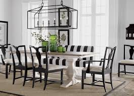 Black Dining Room Table And Chairs Back To Black And White Dining Room Ethan Allen