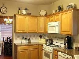 Decorate Kitchen Cabinets New Cabinet Decor 2 Home