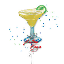 margarita emoticon margarita glass balloon kings