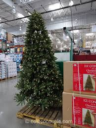 9 foot christmas tree ge 7 5 prelit led christmas tree