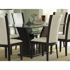 Glass Dining Table And 4 Chairs by Rectangular Glass Dining Set 5pc Set Table 4 Side Chairs