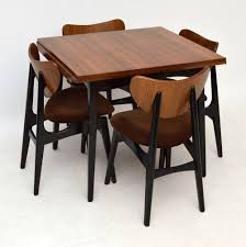 Retro Dining Table Perfect Retro Dining Table And Chairs For Interior Decor Home With