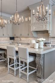 island decor kitchen pinterest beautiful kitchen gray
