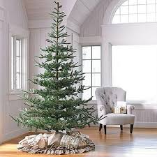 looking lifelike artificial trees shining most