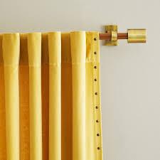 modern curtain rod the loft versailles home fashions inc
