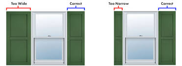 how to measure for exterior shutters hooks lattice
