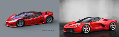 peugeot supercar is it only me or does laferrari look really similar to peugeot