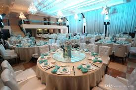 wedding party supplies teal party balloons quality white pearls napkin rings hotel