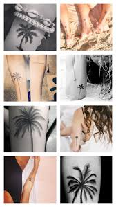 145 best palm tree tattoos images on ideas palm