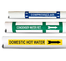 pipe markers pipe labels custom pipe markers