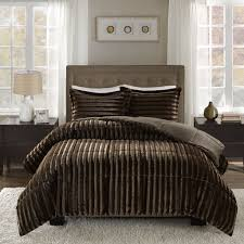 Restoration Hardware Faux Fur Motocross Bedding 79 X 96 Queen Size Motocross Faux Fur Blanket