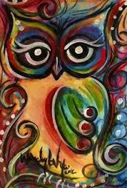 abstract owl art u003cb u003eowl paintings u003c b u003e u003cb u003eowl u003c b u003e and colorful u003cb