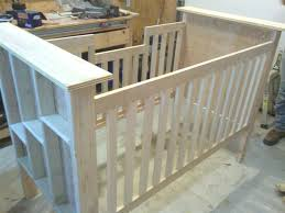free woodworking plans for baby crib image mag