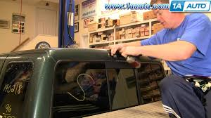 ford f350 third brake light bulb how to install replace 3rd brake light and bulb ford ranger 93 97