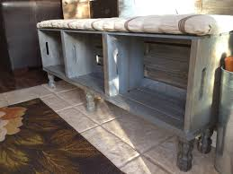 Doorway Bench by Crate Bench Home Decor Pinterest Crate Bench Crates And House