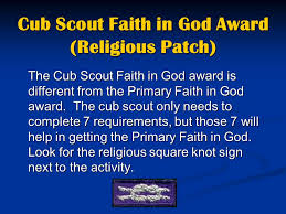 Arrow Of Light Patch A Focus On Faith In God U0026 Arrow Of Light Ppt Video Online Download