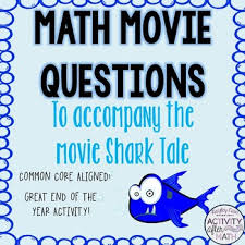 math movie questions accompany shark tale