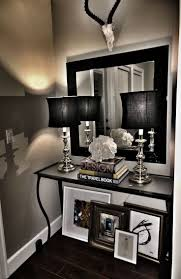 black framed mirror walmart gatco hotel vogue wall mirror lowes