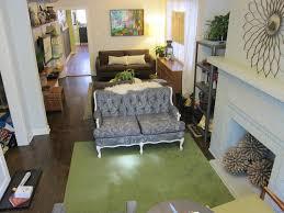 multifunctional long narrow living room idea for chic decor