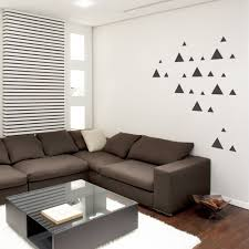 tri triangles wall decal