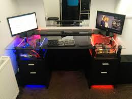 good gaming desks glass gaming desk project album on imgur