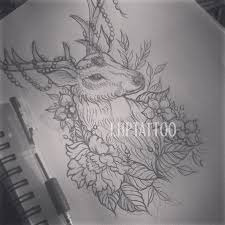 Stag Head Designs 23 Best Original Tattoo Designs By Lhptattoo Images On Pinterest