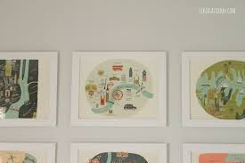 hang pictures without frames ideas best idea creative ways hang without frames home living now