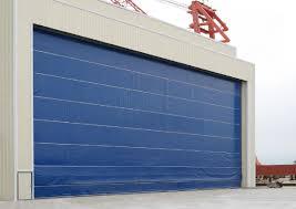 folding garage door sdm upper folding door with soft curtain wuxi xufeng door industry